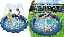 Large 170cm Water Splash Play Mat
