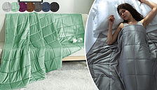 Snug Hug Large Quilted Weighted Blanket - 7 Colours