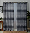 Peacoat Blue Kadomo Curtain Panel Set, 84 in.