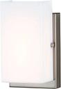 """Sea Gull Vandeventer 5"""" Bathroom Vanity Light in Brushed Nickel"""