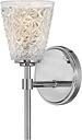 """Hinkley Amabelle 6"""" Bathroom Vanity Light in Chrome"""