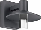 """Tech Ash 8"""" Outdoor Wall Light in Charcoal"""