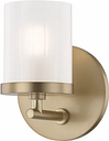 "Mitzi Ryan 5"" Bathroom Vanity Light in Aged Brass"