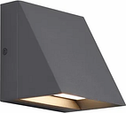 """Tech Pitch LED 5"""" Outdoor Wall Light in Charcoal"""