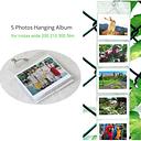 5 Photos Hanging Wall Album for Fujifilm Instax Wide 200 210 300 Films