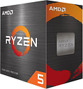 AMD Ryzen 5 5600X Desktop Processor (100-100000065BOX)