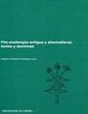 Fito-zooterapia Antigua Y Altomedieval: Textos Y Doctrinas