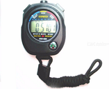 Professional Handheld LCD Chronograph Multifunctional Waterproof  Sports Stopwatch With String For Sport Meeting