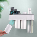 Magnetic Toothbrush Cup Organizer Come With Matching Cup Sets For Phone Cup Cosmetic Wall Mounted Holder