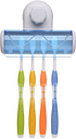 Toothbrush Holder Wall-Mounted Tooth Brush Organizer With Strong Suction Cup