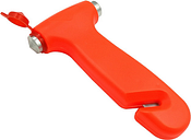 ZIQIAO Multi-Functional Car Emergency Safety Hammer / Cutter - Red