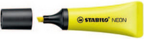 Stabilo Neon Highlighter Pk10 Yell 72/24