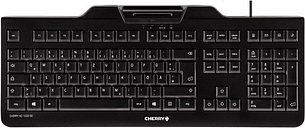 Cherry Kc 1000 Sc Security Wired Keyboard With Integrated Smart Card T