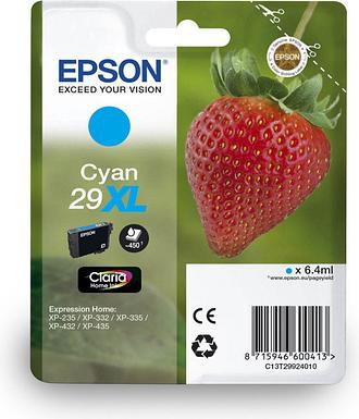 Epson 29XL Strawberry High Yield Ink Cartridge - Cyan