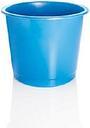 Value Deflecto 14l Plastic Waste Bin Blue
