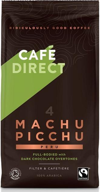 Cafedirect Organic Ground Machu Picchu Coffee 227g TWI12026