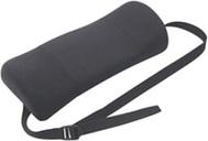 Fellowes Portable Lumbar Support Back Rest - Black