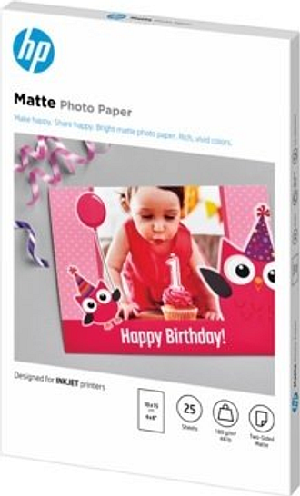 HP Matte FSC Photo Paper 4x6 25 sheets