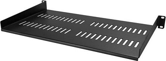 StarTech Vented 1U Rack Shelf - 10 in. Deep