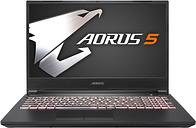 """Aorus 5 Core i7 16GB 1TB Hdd 512GB Ssd Rtx 2060 15.6"""" Win10 Home"""