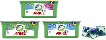 Up to 336 Ariel Three-in-One Washing Capsules