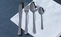 Salter BW06528 Bakewell 24-Piece Stainless Steel Cutlery Set