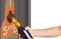Widdop Save Water Drink BeerWall Plaque Bottle Opener