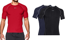 T-shirt de compression pour homme de la marque Under Armour