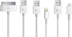 One or Two Charging and Syncing Cables
