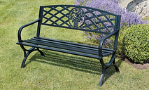 Garden Gear Park Benches or Bistro Set With Free Delivery