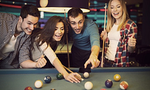 One Hour of Snooker with a Snack and Drink for Two at Shooters Snooker Pool & Darts Club