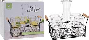Six-Piece Drinking Glass Set