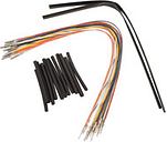 """NAMZ Custom Cycle 12"""" Ready-to-Install Handlebar Wire Extension Harness"""