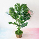 1pc Artificial Tropical Leaf Without Bottom Pot