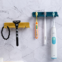 1pc Wall Mounted Toothbrush Holder