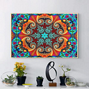 24x36 Inches Visual Puzzle Silk Poster Psychedelic Puzzle Magic Wall Art Home Decor