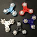 EDC Hand Spinners LED Light Tri-Spinner Finger Spinner Focus Reduce Stress Gadget 4 Colors