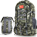 60L Large Capacity Backpack Outdoor Travel Climbing Nylon Backpack For Men