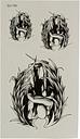 Waterproof Temporary Tattoo Sticker Falling Angel Body Arm Leg Art Removable