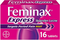 Feminax Express Period Pain Relief Tablets 16S