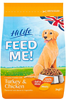 Hilife Feed Me Turkey And Chicken Dry Dog Food 2Kg