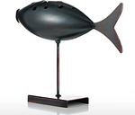 Submarino pescado Tooarts metal Casa Esculturas pescados de la decoración escultura creativa