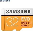Tarjeta Micro SD Samsung EVO Class 10 256GB 32GB