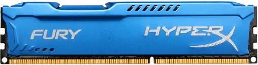 Kingston HyperX FURY 4GB Memoria de Escritorio 1866MHz DDR3 CL10 SDRAM 1.5V 240-Pin HX318C10F / 4