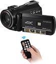Grabadora de videocámara con cámara de video digital Andoer AC3 4K UHD 24MP