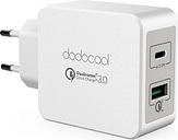 dodocool 33W energía del cargador de pared de 2 puertos USB