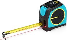 Medidor de distancia láser digital 2 en 1 MiLESEEY DT10 Tapeline