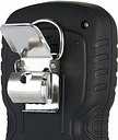 4 en 1 Detector de gas Monitor de CO Digital de mano Tóxico Gas Detector de monóxido de carbono Probador de gas de sulfuro de hidrógeno con pantalla LCD Sonido + Alarma de vibración ligera