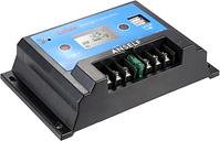 Anself inteligente 20A 12V/24V LCD carga Solar regulador Auto regulador PWM de carga USB salida Panel Solar batería protección de sobrecarga