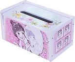 Artículo de casa creativo DIY Artículo de pedido especial Caja de tejido Resistente al agua Caja de toallas de papel Rectángulo contenedor de servilletas